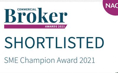 SME Champion – shortlisted!